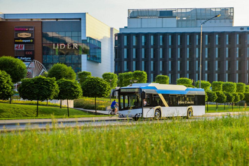 autobusy elektryczne