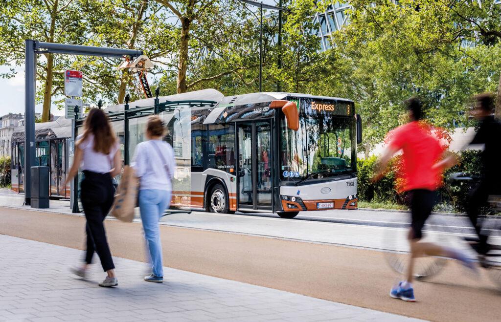 Trendy w transporcie publicznym