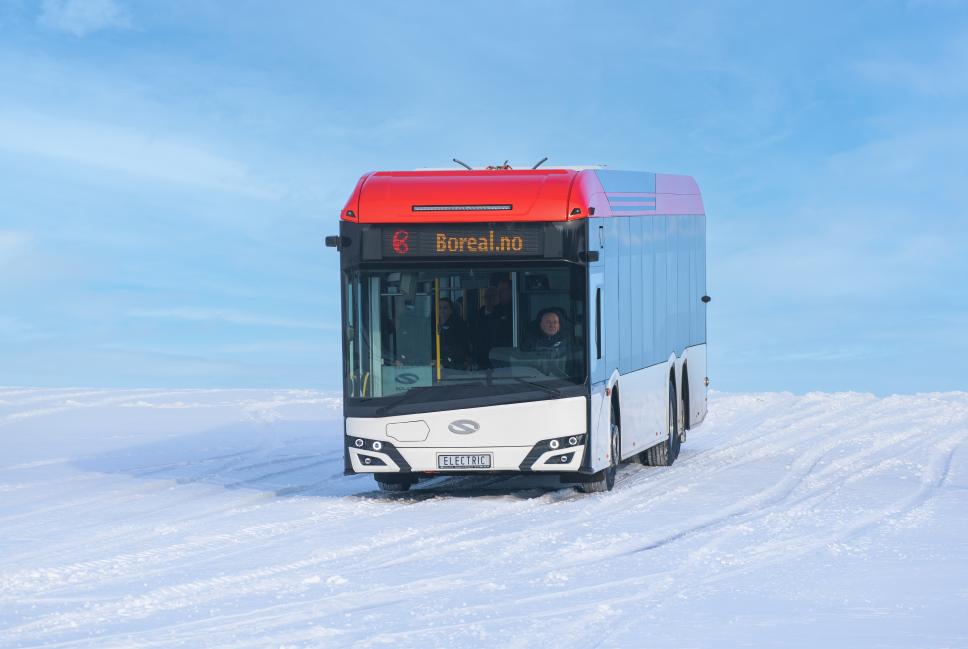autobus elektryczny na testach